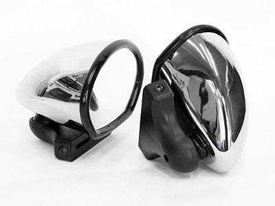 Universal Classic Car KD-1125C Chrome Mirrors (pair)