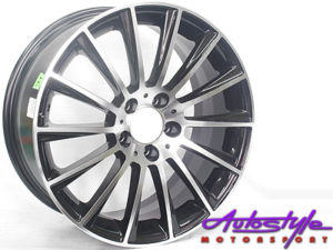 "17"" S63 Black 5/112 Alloy Wheels-0"