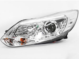 Ford Focus 2011 Chrome DRL Headlights (pair)-0