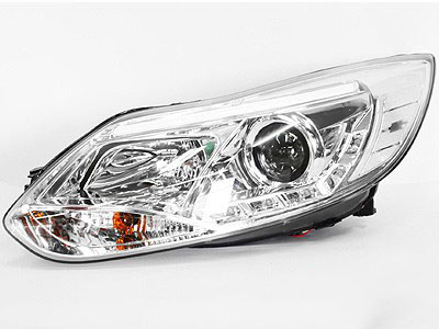 Ford Focus 2011 Chrome DRL Headlights (pair)