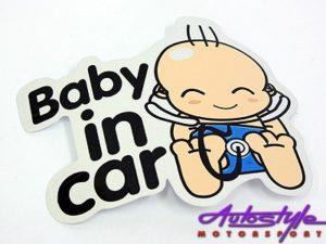 """""""Baby on Board"""" Window Sticker-0"""