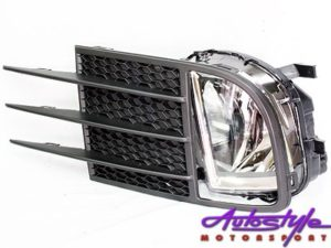 VW Golf Mk6 Gti Replacement Foglamps with Grille (pair)-0
