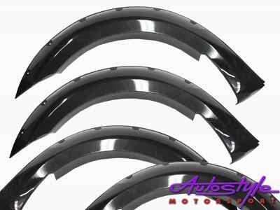 Ford Ranger 2016 Gloss Black Wheel Arches
