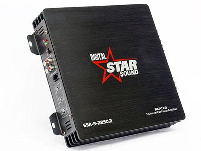Starsound Digital Raptor 2250w 2channel Amplifier