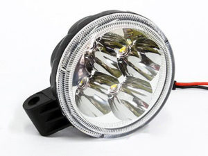 Universal 8cm Round LED Spotlamp (each)-0