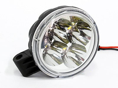 Universal 8cm Round LED Spotlamp (each)