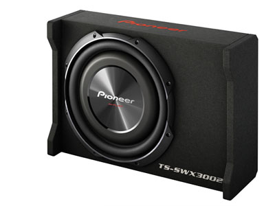 Pioneer TS-SWX3002 12″ Shallow-Mount Pre-Loaded Enclosure