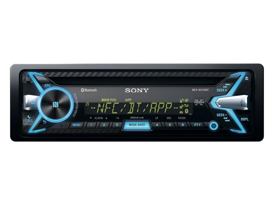 Sony MEX-N5150BT Media Receiver with USB & Bluetooth