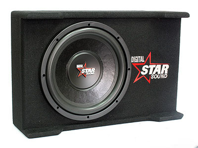 Starsound 12″ 4100w Slimline Subwoofer & Compact Enclosure
