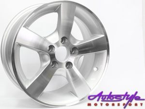 "14"" Evo Type-1162 5/100 Alloy Wheels-0"