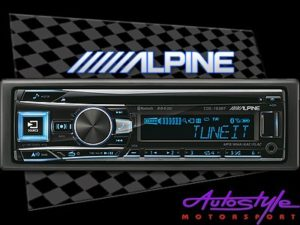 Alpine CDE-193BT Mp3 with USB Cd Front Loader-0