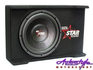 "Starsound 12"" 4100w Slimline Subwoofer & Compact Enclosure-0"