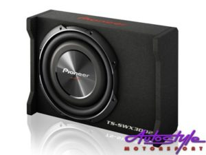 "Pioneer TS-SWX3002 12"" Shallow-Mount Pre-Loaded Enclosure-0"