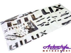 Toyota Hilux Matt Black Body Sticker Kit-24322