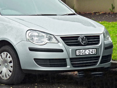Vw Polo 2006-2010 Front Bumper Shell only