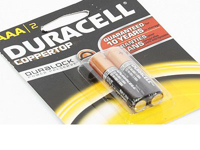 Duracell AAA Batteries (2pieces)