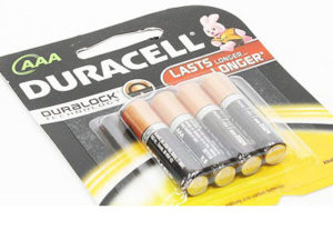Duracell AAA Batteries (4pieces)-0