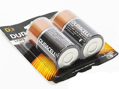 Duracell D2 Batteries (2pieces)