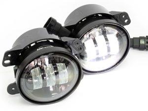 "Universal Jeep 4"" 3000lumen Spotlamps (pair)-0"