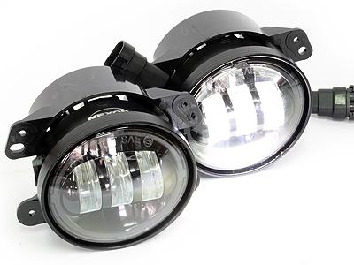 Universal Jeep 4″ 3000lumen Spotlamps (pair)