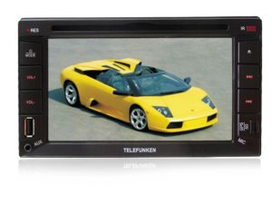 Telefunken TICE-663BTGPS Double Din DVD with GPS-0