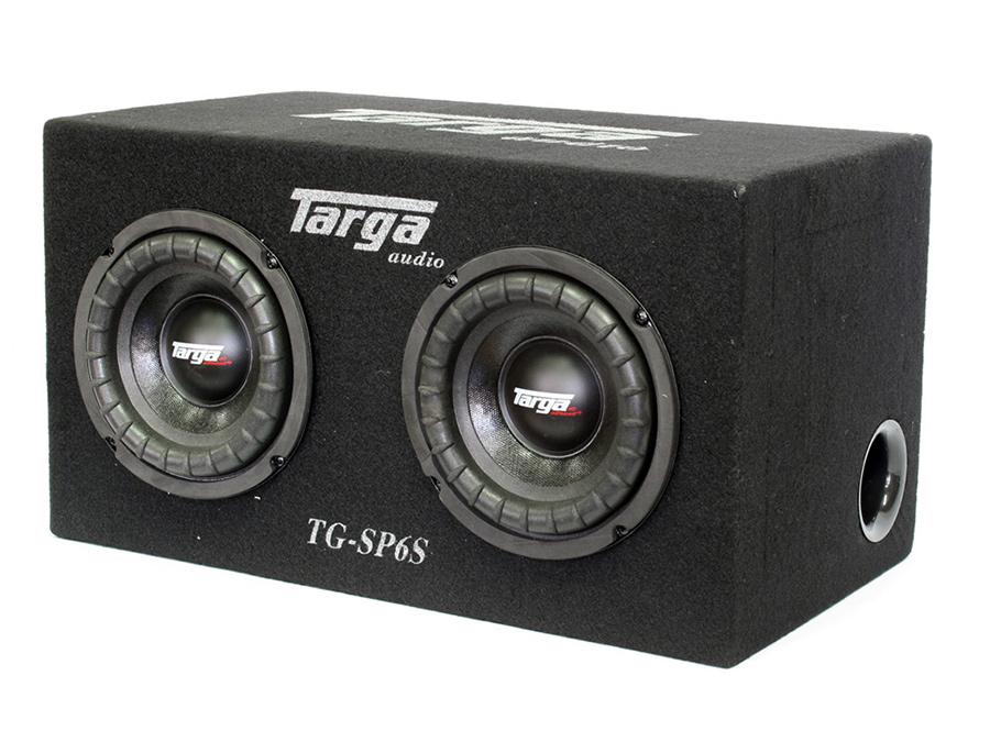 Targa 6″ Twin Subwoofer & Enclosure Combo