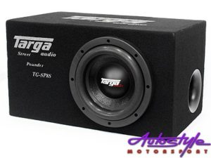 "Targa 8"" Subwoofer & Ported Enclosure Combo-0"