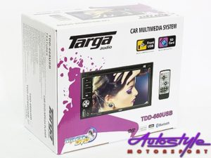 Targa TDD-GP660USB Double Din with GPS Navigation-24521