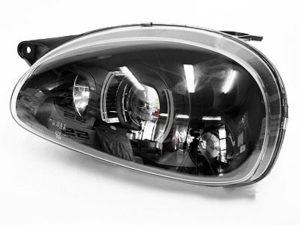 Opel Corsa Black Evo Design Headlights (pair)-0