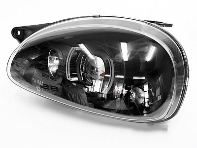 Opel Corsa Black Evo Design Headlights (pair)