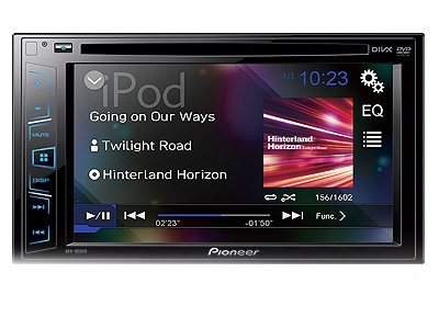Pioneer AVH-195DVD 6.2″ Double Din DVD Receiver