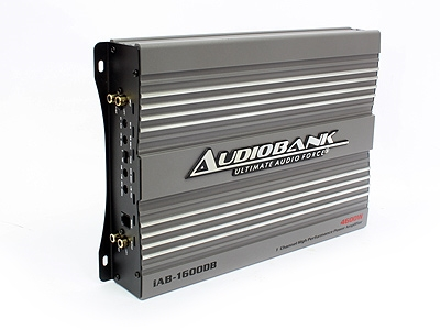 Audiobank IAB Series 4600w 1ch 2ohm Amplifier