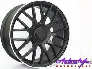 "18"" QS SL65 5/112 Matt Black Alloy Wheels-0"
