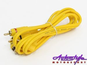 Audiobank RCA Cabling (1metre)-0
