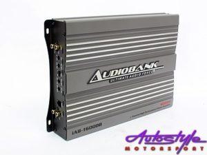 Audiobank IAB Series 4600w 1ch 2ohm Amplifier-0