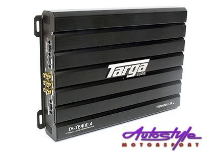 Targa Terminator2 Series 6400w 4ch Amplifier-0