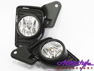 Toyota Quantum Foglamp with Grille Set (pair)-0