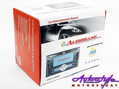 Audiobank Double Din Media Player with Bluetooth-24587