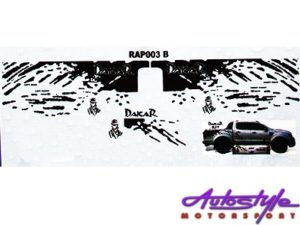 Ford Ranger Dakar Style Vehicle Sticker Set-25130