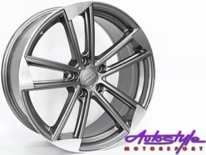 "18"" MG216 5/112 Gunmetal Alloy Wheels-0"