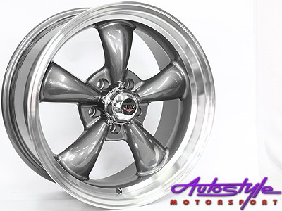 17″ GR75097 5/114 Gunmetal Alloy Wheels