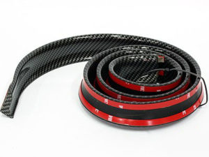 Samurai Universal Flexible Carbon Fibre Look Spoiler (thin)-0