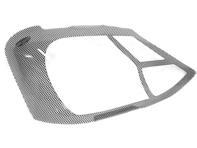 Carbon Headlight Shields for Toyota Etios 2012