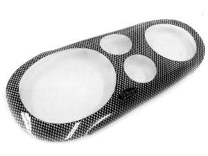VW Golf Mk4 Carbon Fibre Look Headlight Shields-0