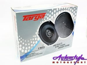 "Targa 550w 3way 6x9"" Speakers-0"