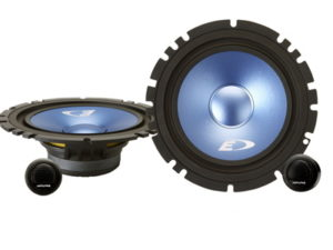 "Alpine SXE-17CS 6"" 280w 2way Split System-0"