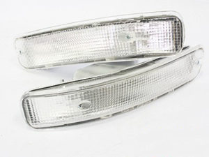Toyota E8E9 2Slot Bumper Clear Indicators-0