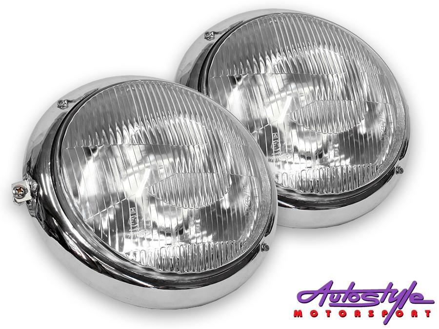 VW Classic Bus T1 62-72 Headlamps (pair)