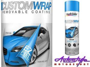 Dupli-Color Custom Wrap Renovating Coating (Matt Blue Metallic)-0