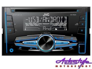 JVC KW-R520 Double Din CD/MP3 with USB-0